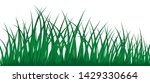 vector grass silhouette. all... | Shutterstock .eps vector #1429330664