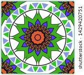 vector mandala pattern for...   Shutterstock .eps vector #1429420751