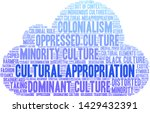 cultural appropriation word... | Shutterstock .eps vector #1429432391