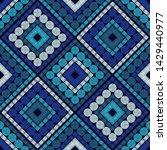 polka dots seamless pattern....   Shutterstock .eps vector #1429440977