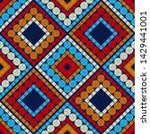 polka dots seamless pattern....   Shutterstock .eps vector #1429441001