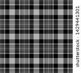 gray and black tartan plaid...   Shutterstock .eps vector #1429441301