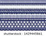tribal pattern. ethnic...   Shutterstock .eps vector #1429445861