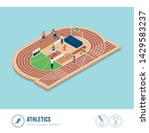 professional sports competition ... | Shutterstock .eps vector #1429583237