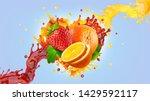 Orange Strawberry Fresh Fruit...