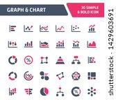 30 editable vector icons... | Shutterstock .eps vector #1429603691