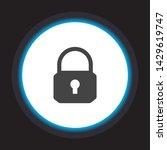 lock vector icon . lorem ipsum...