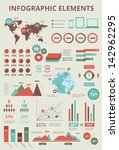 set elements of infographics... | Shutterstock . vector #142962295