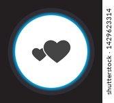 heart vector icon . lorem ipsum ...