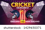 cricket tournament  england v s ... | Shutterstock .eps vector #1429650371
