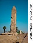 egyptian obelisk pharaonic in...   Shutterstock . vector #1429652234