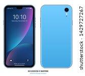 Smartphone Frameless Blue Colo...