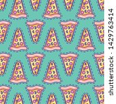pattern of patches of delicious ... | Shutterstock .eps vector #1429763414