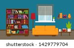 living room or apartment with...   Shutterstock .eps vector #1429779704