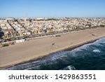 afternoon aerial view of homes... | Shutterstock . vector #1429863551