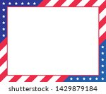 patriotic stars and stripes... | Shutterstock .eps vector #1429879184
