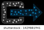 bright mesh exit direction with ... | Shutterstock .eps vector #1429881941