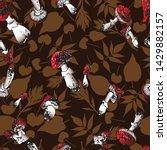 bright autumn seamless pattern... | Shutterstock .eps vector #1429882157