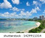 Beautiful Tumon bay beach in guam emerald beach