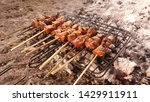 indonesian culinary  sate  this ... | Shutterstock . vector #1429911911