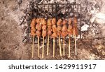 indonesian culinary  sate  this ... | Shutterstock . vector #1429911917