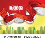 indonesia happy independence... | Shutterstock .eps vector #1429928327
