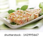 Terrine With Vegetables Served...