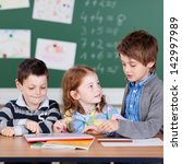 portrait of children having a... | Shutterstock . vector #142997989