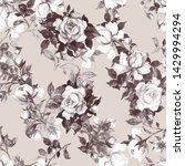 watercolor seamless texture... | Shutterstock . vector #1429994294