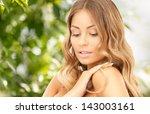 bright closeup portrait picture ...   Shutterstock . vector #143003161
