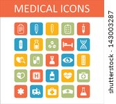health and medicine icons | Shutterstock .eps vector #143003287