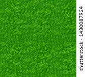 green grass field. grass border.... | Shutterstock . vector #1430087924