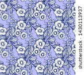 seamless pattern nature set... | Shutterstock .eps vector #1430113937