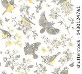 seamless pattern. classis... | Shutterstock .eps vector #1430124761