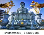 big buddha of hyogo in kobe ... | Shutterstock . vector #143019181