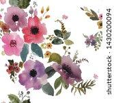 beautiful  floral pattern ...   Shutterstock . vector #1430200094