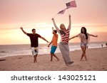 group of friends in their... | Shutterstock . vector #143025121