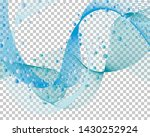 abstract water background with... | Shutterstock .eps vector #1430252924