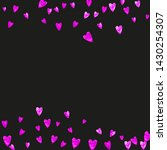 heart border background with... | Shutterstock .eps vector #1430254307