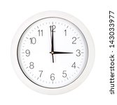 clock face showing three o... | Shutterstock . vector #143033977