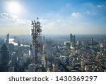 Telecommunication tower with 5g ...