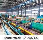 industrial zone  steel... | Shutterstock . vector #143037127