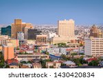 El Paso  Texas  Usa  Downtown...