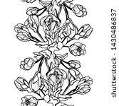 elegant seamless pattern with...   Shutterstock .eps vector #1430486837