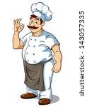 chef  vector illustration | Shutterstock .eps vector #143057335