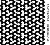 seamless pattern. pentagons ... | Shutterstock .eps vector #1430581991