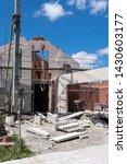 construction site of an new... | Shutterstock . vector #1430603177