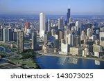 the chicago skyline  chicago ... | Shutterstock . vector #143073025