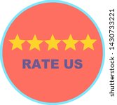 rate us concept  customer...