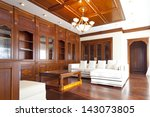interior of living room in... | Shutterstock . vector #143073805
